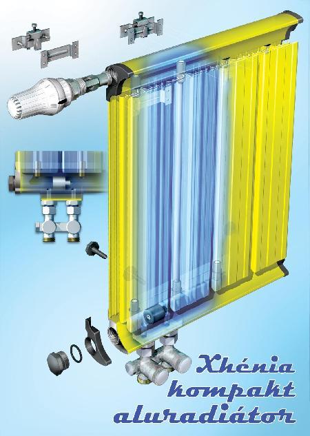 Alumínium radiátor