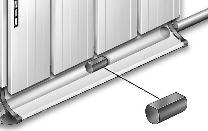 Aluminium radiátor egyoldali kötés