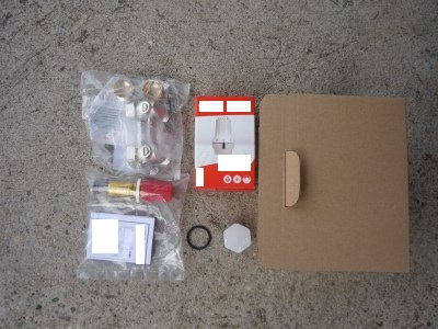 kompakt radiátor egységcsomag