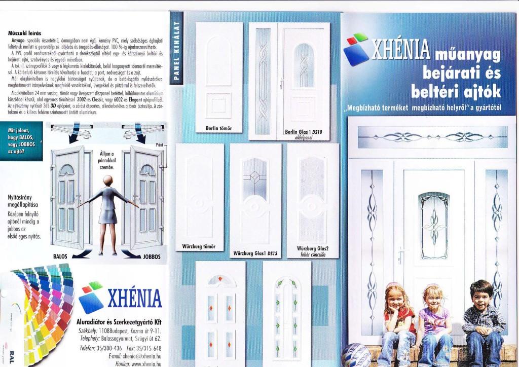 Xhénia Műanyag bejárati és beltéri ajtók-page-001