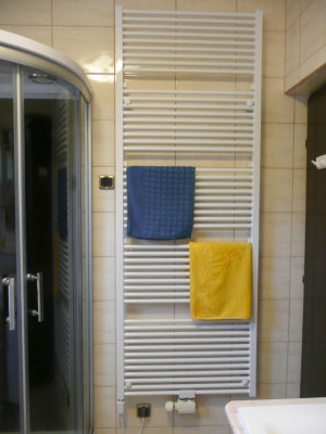 Törölközőszárító radiátor