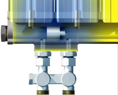 Alumínium radiátor model