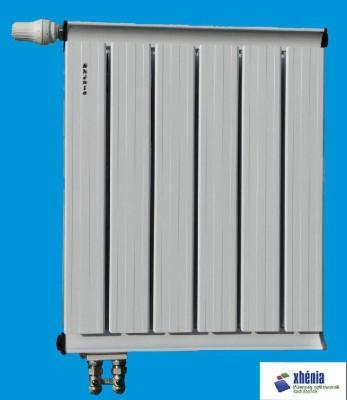 Alumínium radiátor szerkezete