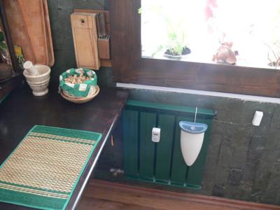 Zöld radiátor