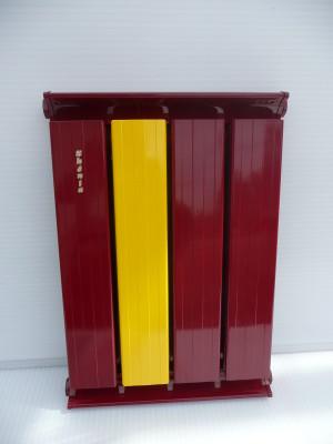 Piros sárga radiátor