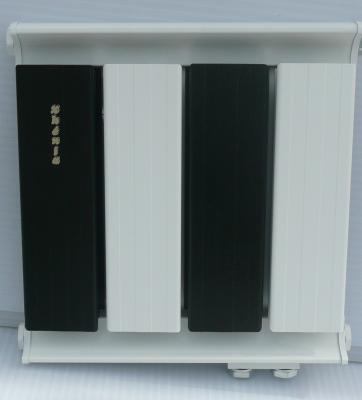 Fekete-fehér radiátor